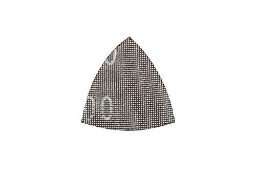 Preisvergleich Produktbild kwb Gitterleinen Schleif-Papier Schleifgitter-Scheibe für Nass- und Trocken-Schliff,  f. Delta-Schleifer 93 x 93 K-80,  aus Fiberglas,  gelocht m. Klett,  5 Stk.