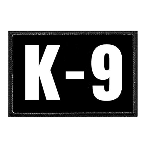 K-9 | Hook and Loop Attach for Hats, Jeans, Vest, Coat | 2x3 in | by Pull Patch