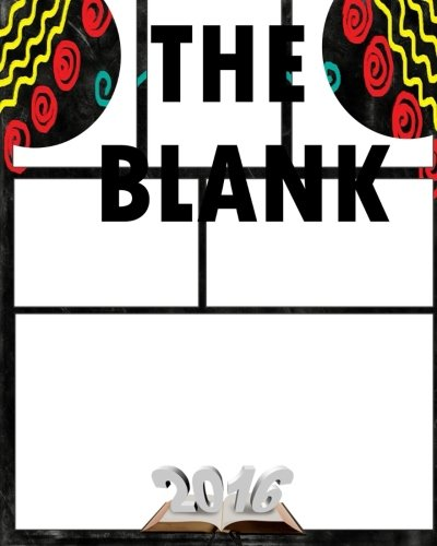 The Blank: Comic Book Template 8 x 10, 120 Pages, comic panel,For drawing your own comics, idea and design sketchbook,for artists of all levels