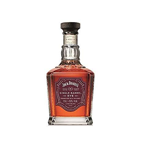 Jack Daniel\'s Single Barrel Rye - Tennessee Whiskey - 45{9c52e16bd2195125e8f9b61524530675a1250d4fcc8701ce4f09c6c6a5ae02eb} Vol. (1 x 0.7l), Unsere erstes neues Maische-Rezept seit 1866.