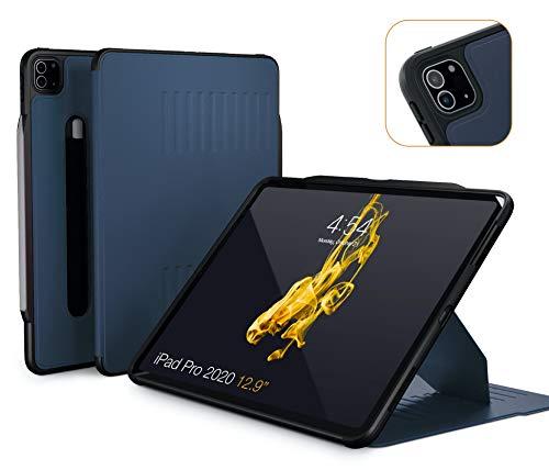 ZUGU Funda para iPad Pro 12.9 2020 4.ª Generación, Alpha Case Protectora Pero Delgada con 10 Ángulos de Visión… 1