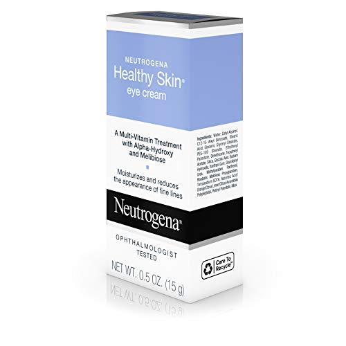 41RtSteqAbL - Neutrogena Healthy Skin Eye Firming Cream with Alpha Hydroxy Acid, Vitamin A & Vitamin B5 - Eye Cream for Wrinkles with Glycerin, Glycolic Acid, Alpha Hydroxy, Vitamin A, Vitamin B5, Vitamin C, 0.5 oz