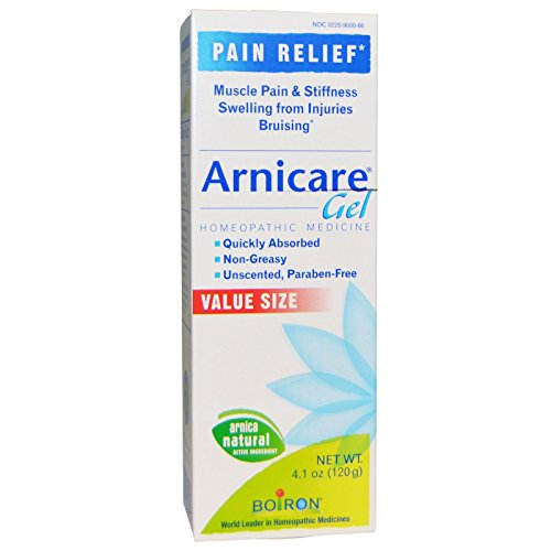 Boiron. Arnicare Pain Relief Gel, 4.1 Ounce (3 Boxes-12.3 Oz))