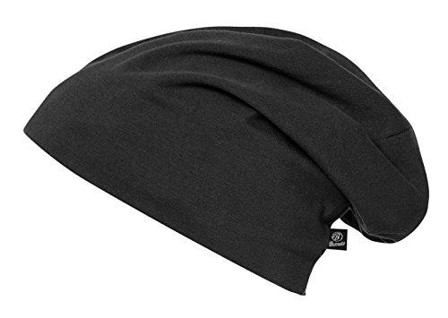 Beanie Jersey 9167-2-XL/XXL Uni Schwarz (groß)