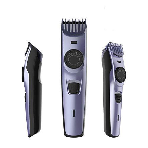 Haartrimmer Oplaadbare elektrische haartrimmer Snoerloos herenkapsel Verstelbaar keramisch mes Professioneel digitaal