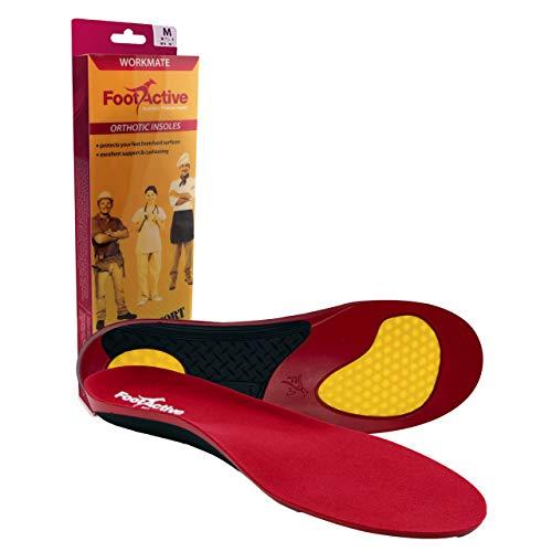 FOOTACTIVE WORKMATE - Soporte del puente y amortiguación para el pie excelentes para personas que pasan todo el día de pie - S (39/41 EU)