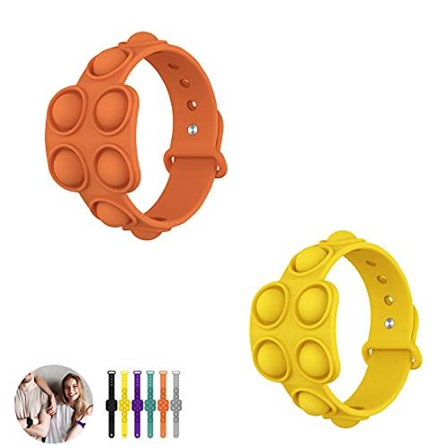 Pop It Figet Toy Armband und Schlüsselanhänger