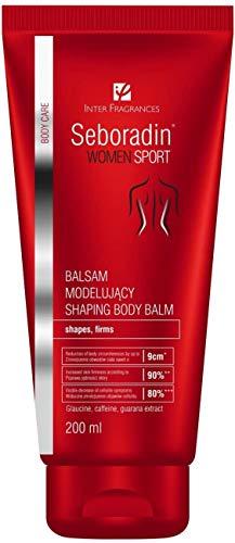 Seboradin WOMEN SPORT Modellierende Balsam für Frauen, Anti Cellulite Balm mit Koffein und Glaucin, Glatte und Feste Haut, Reduktion der Körperumfänge, alle Hauttypen...