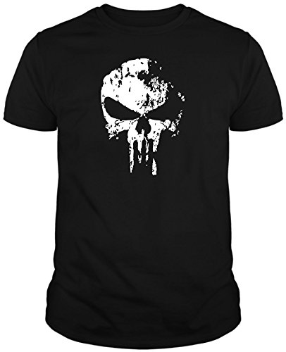 The Fan Tee Camiseta de Hombre Punisher El Castigador Comic Calavera 2XL