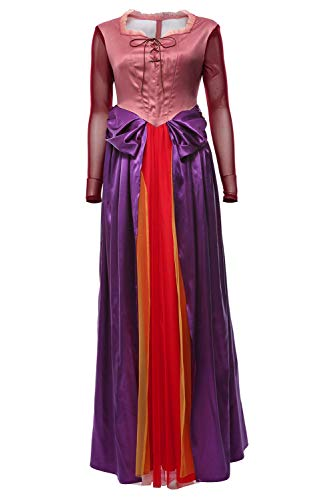 RedJade Hocus Pocus Adult Sarah Sanderson Outfit Traje de Cosplay Mujeres XXL