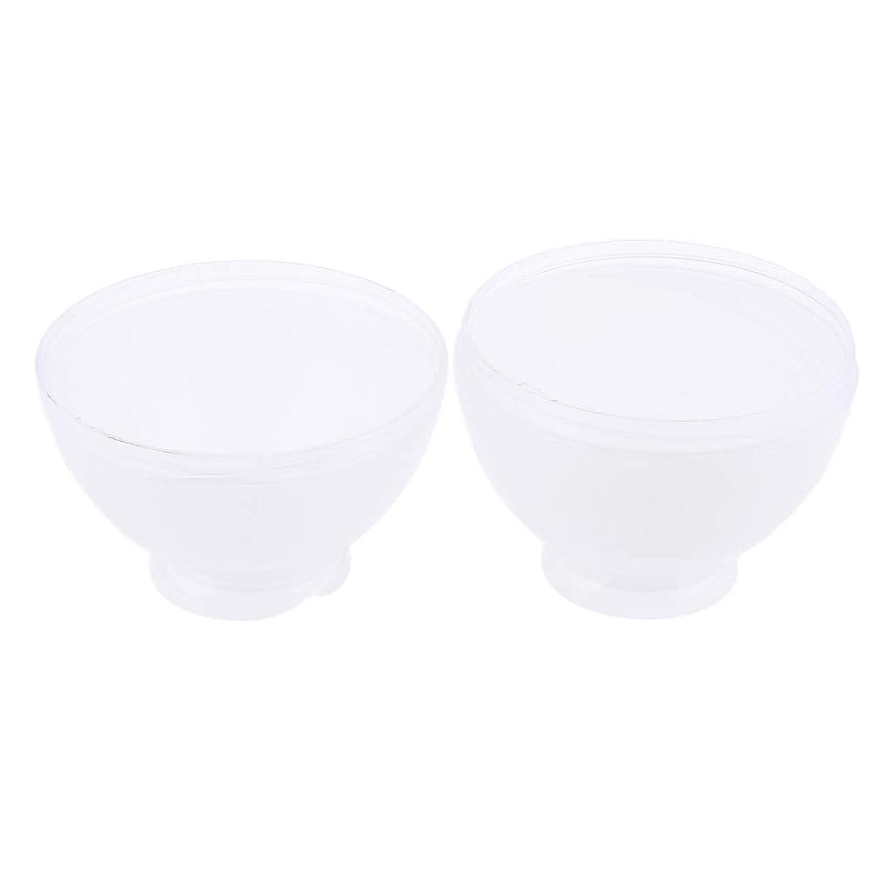 犯すはっきりしないこっそりP Prettyia ヘアカラー ミキシングボトル プラスチック製 速乾性 3色選べ - 白