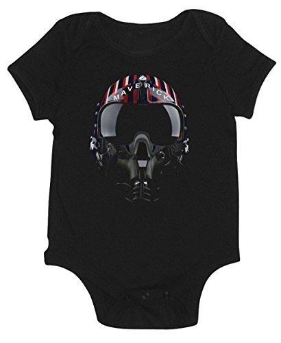 Lil Punkers Maverick Top Gun Helmet Onesie (6 Month)