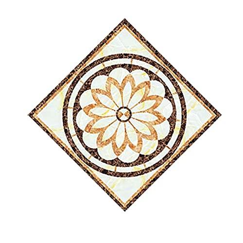 Etiquetas engomadas del azulejo 20 unids/set Auto adhesivo Pegatinas de azulejos de cerámica Impermeable Etiqueta de pared Arte Diagonal Pegatinas de piso Cocina Casa DIY Decoración Fácil de instala