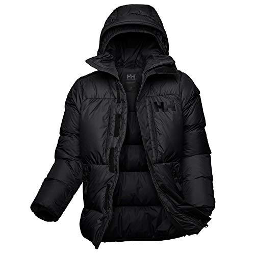 Helly Hansen Arctic Patrol Down Parka Chaqueta Deportiva, Negro (Negro 990), Large (Tamaño del Fabricante:L) para Hombre