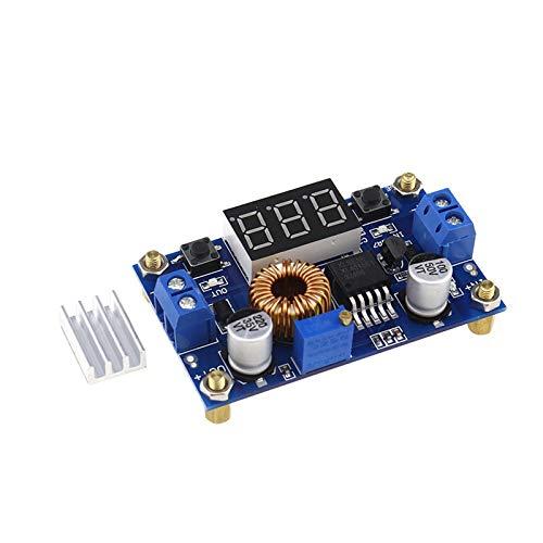 ENET Convertisseur LED Abaisseur de Tension XL4015 5A Remplacement pour Installation Réglage Simples Aide à Surveillance Alimentation