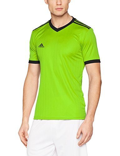 adidas Herren Tabela 18 Trikot, Semi Solar Green/Black, XL