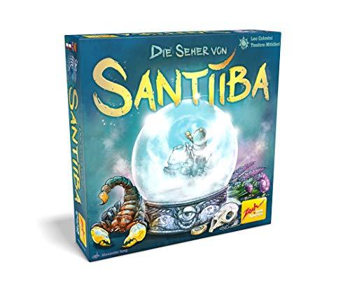Zoch 601105138 Die Seher von Santiiba, Das spannungsgeladene Familienspiel der Gedankenduelle, ab 8 Jahren
