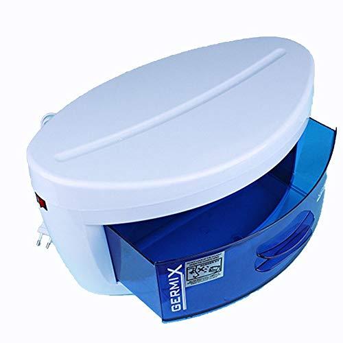 Qddan Unterwäsche Masken Desinfektion Maschine UV + Ozon Sterilisation Box Haushaltsklein Schnell trocknend Trockner Baby-Kleidung Towel Sterilisator Kabinett Praktisch (Farbe : Weiß)
