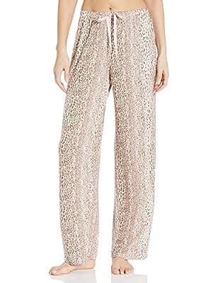 HUE Women's Well with Temp Tech Pajama Sleep Pant, Iron, Small from HUE
