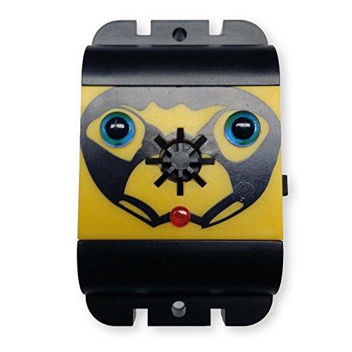 ISOTRONIC Taubenabwehr, Batterie betriebener Vogelschreck für Balkon, Ultraschall Vogelabwehr ohne Spikes, 1er-Pack