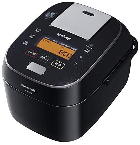 パナソニック 炊飯器 5.5合 圧力IH式 Wおどり炊き ブラック SR-SPA108-K