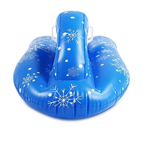 FACAI Esquís Inflables para Coche De Esquí para Niños Inflables Resistentes Al Frío Anillos De Esquí Inflables Barcos De Esquí Inflables