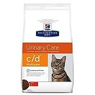 Hills Prescription Diet Feline c/d Multicare Urinary Care Dry Cat Food with Chicken 10 kg, for Healt...
