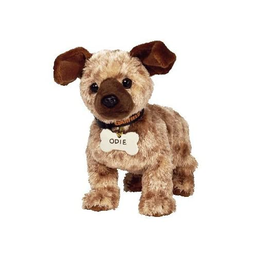 5f16bfacfb1 Amazon.com  TY Beanie Baby - ODIE the Dog ( Garfield Movie Beanie )  Toy    Toys   Games