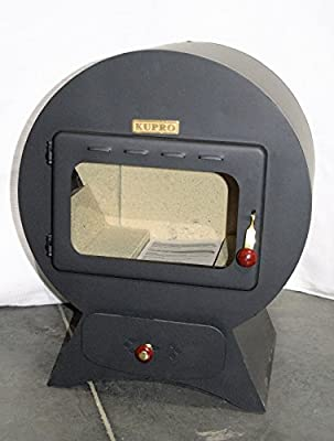 Woodburning Stove Fireplace Log Burner KUPRO Extravagance 9 KW Rear Flue Exit