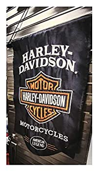 Harley-Davidson American Legend Sculpted Applique Garden Flag 12.5 x 18 164900