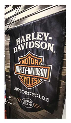 Harley-Davidson American Legend, Outdoor Safe Garden Flag, 12.5 X 18 inches