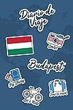 Diario de Viaje Budapest: Diario de Viaje   106 páginas, 15.24 cm x 22.86 cm   Para acompañarle durante su estancia.