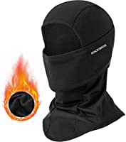 ROCKBROS Men's Balaclava Windproof Ski Mask for Cold Weather Balaclava Mask Winter Thermal Fleece Hood for Motorcycle...