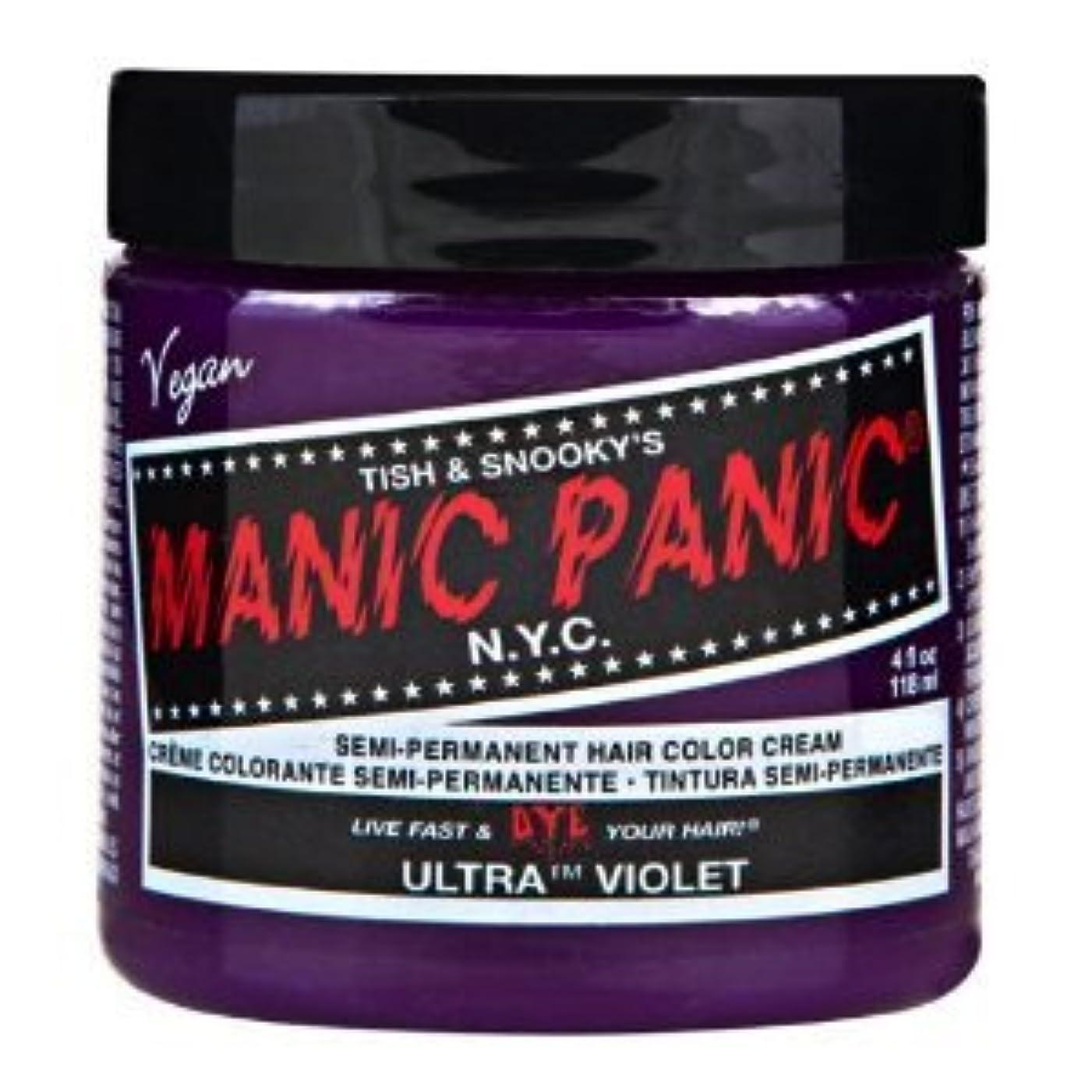 希少性落胆した失われたMANIC PANICマニックパニック:Ultra Violet (ウルトラ?ヴァイオレット) 118ml