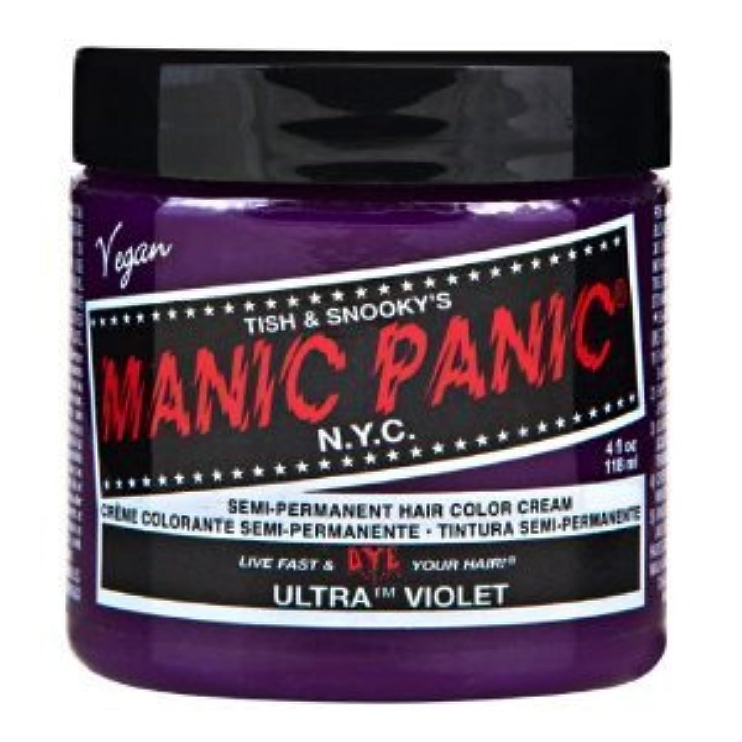 電池水平どこでもMANIC PANICマニックパニック:Ultra Violet (ウルトラ?ヴァイオレット) 118ml