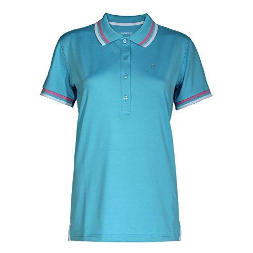 ALBERTO Damen Golfshirt Poloshirt Isy Dry Comfort blau Gr. 36