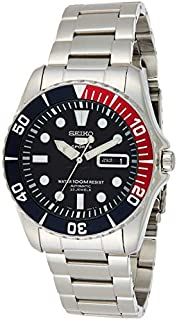 Seiko Men's Analogue Automatic Watch with Stainless Steel Bracelet – SNZF15K1 (B001ELSSOO) | Amazon price tracker / tracking, Amazon price history charts, Amazon price watches, Amazon price drop alerts
