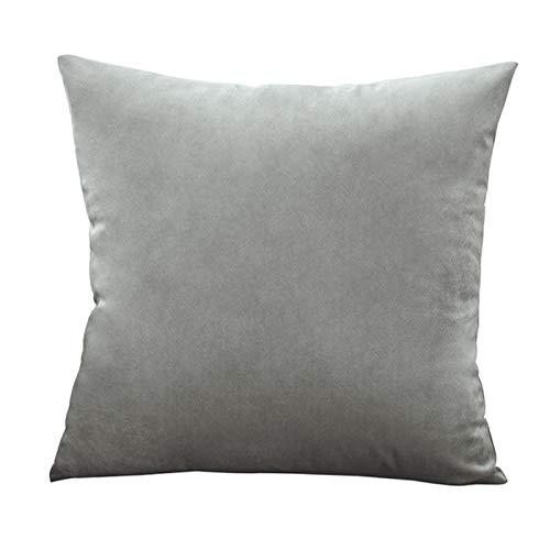 XATAKJJ Funda de cojín súper Suave Funda de Almohada de Terciopelo para sofá decoración de Almohadas Decorativas para Sala de Estar