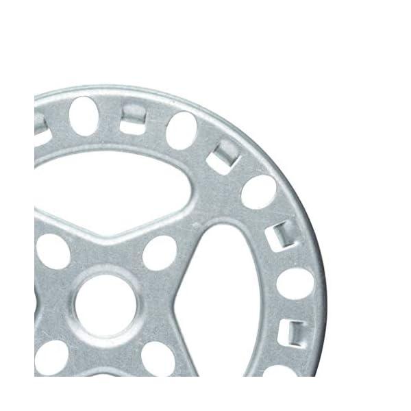 KitchenCraft Gas Ring Reducer Trivet, Galvanised Iron, 12 cm