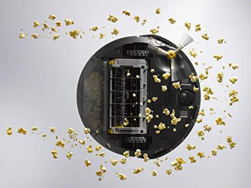 Aspirateur robot iRobot Roomba692 connecté via Wi-Fi - Idéal pour les tapis et sols durs - Technologie Dirt Detect - Système de nettoyage en troisétapes - Commandes pour maison connectée et dans app