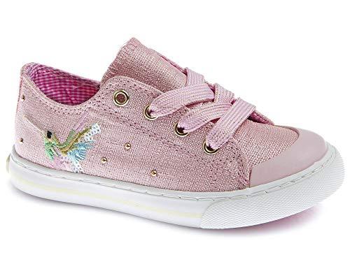 Zapatillas De Lona Niña Pablosky Rosa/Lila 962871 25