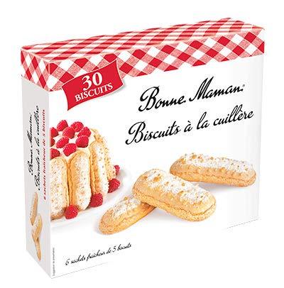 Bonne Maman Biscuits àla Cuillère 6 Sachets Fraîcheur de 5 Biscuits, 250g