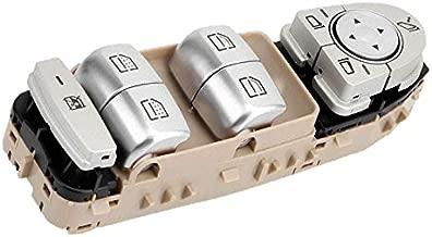 2229056800 New Power Window Switch Electric Window Switch For Mercedes-Benz W205 C180 C200 C300 2014-2018 (Beige)