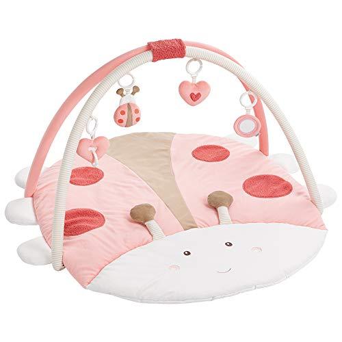 Fehn - Manta de actividades para bebé, redonda, 3D multicolor Käfer (Producto para bebé)