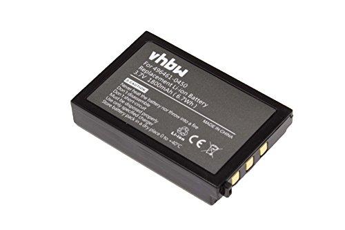 vhbw Akku passend für Denso DS22L1-G Barcodescanner POS (1800mAh, 3,7V, Li-Ion)