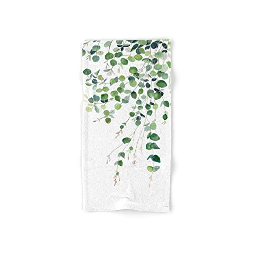 Society6 Eucalyptus Watercolor by Melly Terpening on Hand Towel - Hand Towel