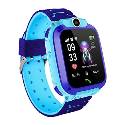 Windy5 Smart Watch Kid Smartwatches Baby Watch 1,44 Pollici Touch Orologio per Bambini, Schermo di monitoraggio Localizzatore di Chat vocale Impermeabile Tracker Anti Orologio Perso
