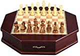 HJTLK Ajedrez 32 unids/Set ajedrez de Mesa de Madera Juegos de ajedrez Chino Chessman Navidad cumpleaños Regalos Premium Juego de Mesa de Entretenimiento Juego de ajedrez