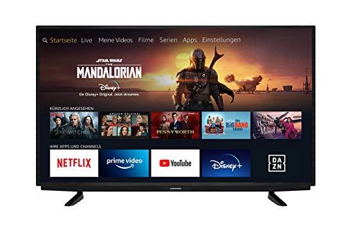 Grundig Vision 7 - Fire TV (55 VAE 70) 139 cm (55 Zoll) Fernseher (Ultra HD, Alexa-Sprachsteuerung, HDR) [Modelljahr 2020]