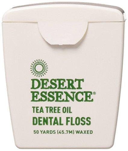 Pack of 6 Desert Essence Tea Tree Oil Floss 50 CT – $4.15 (82% Off)